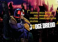 Judge Dredd vs. Zombies Image