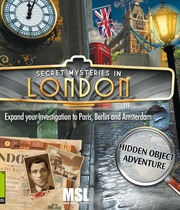 Secret Mysteries in London Boxart