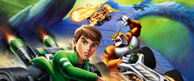 Ben 10 Galactic Racing - Feature
