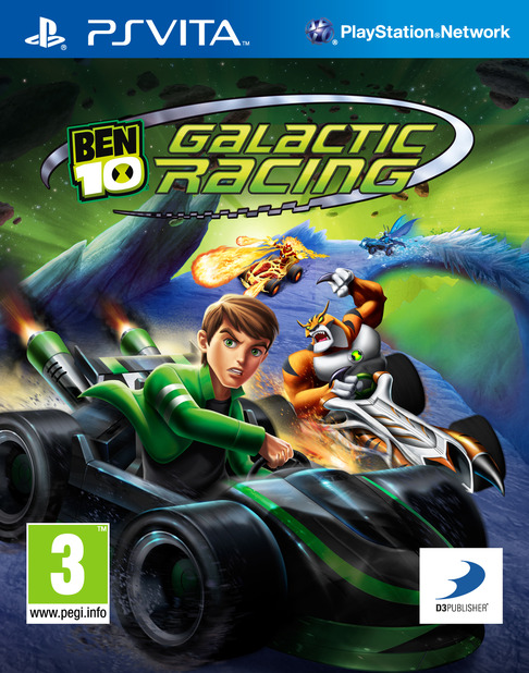 Ben 10 Galactic Racing Packshot - 1096069
