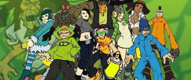 Jet Set Radio - Feature