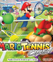 Mario Tennis Open Boxart