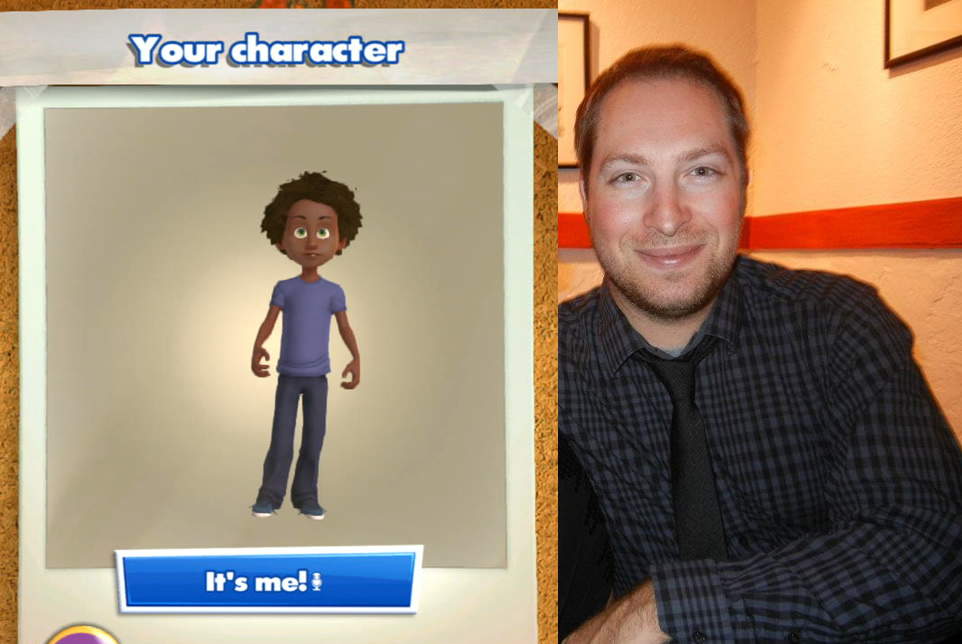 Kinect Rush character creation