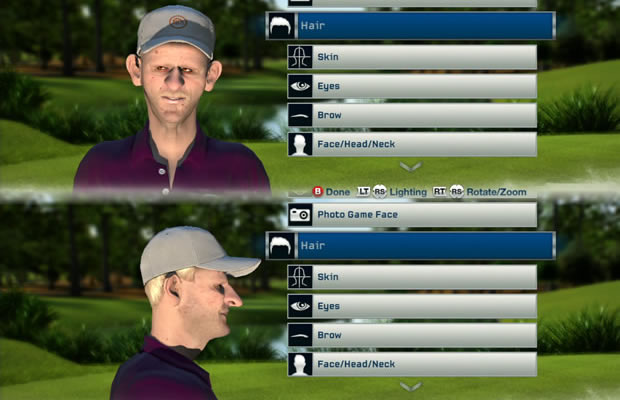 Tiger Woods 13 create golfer