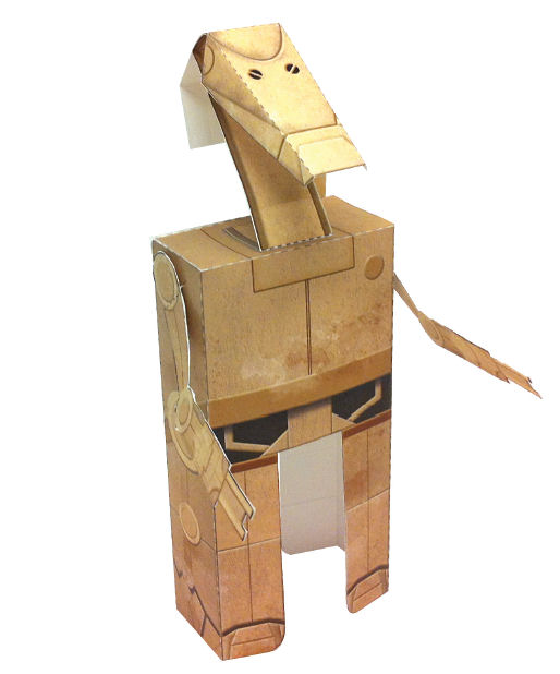 Make Your Own Star Wars Battle Droid Papercraft