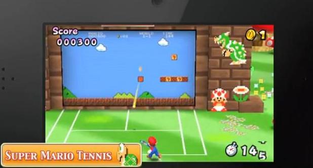 Mario Tennis Open Image
