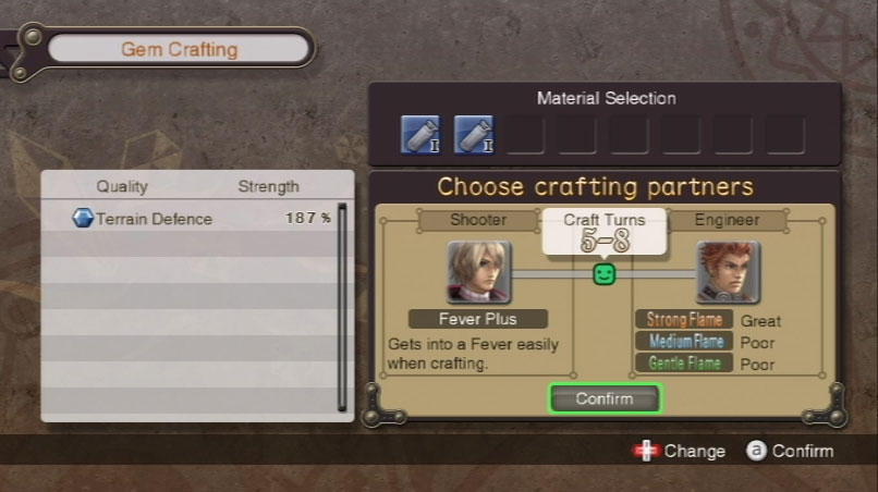 Xenoblade Chronicles Gem Crafting Guide