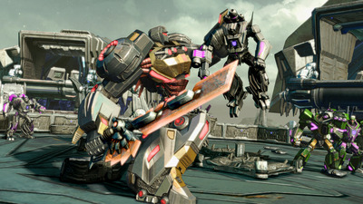 Transformers: Fall of Cybertron Screenshot - 1101228