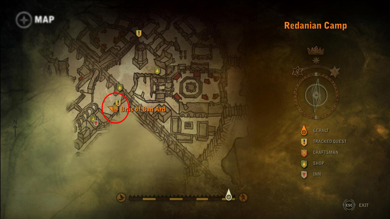 how to use ard witcher 2