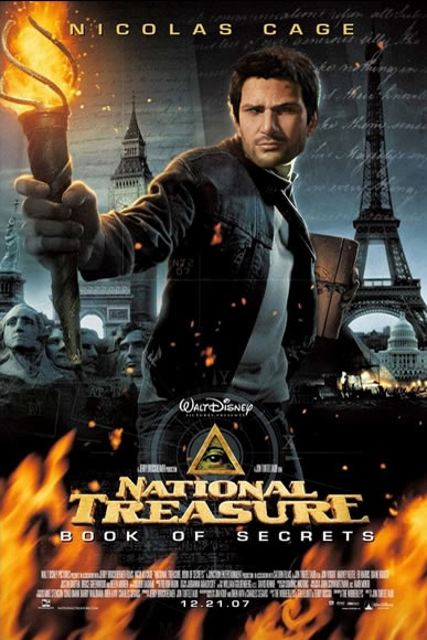 uncharted and national treasure