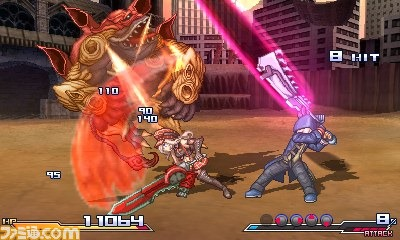Project X Zone - Japan2
