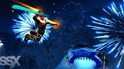 SSX Screenshot - ssx mt. eddie
