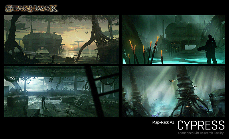 Starhawk Cypress map pack