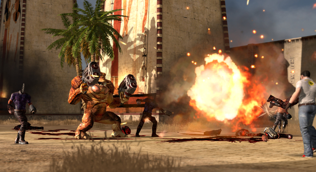 Serious Sam HD: The Second Encounter Screenshot - Serious Sam HD: The Second Encounter - Legend of the Beast
