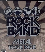 Rock Band Metal Track Pack Boxart