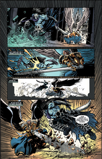 Darksiders II prequel comic