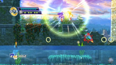 Sonic the Hedgehog 4 Episode II Screenshot - Sonic 4 Episode II - main