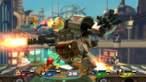 PlayStation All-Stars Battle Royale Screenshot - 1104318