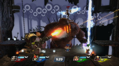 PlayStation All-Stars Battle Royale Screenshot - 1104601