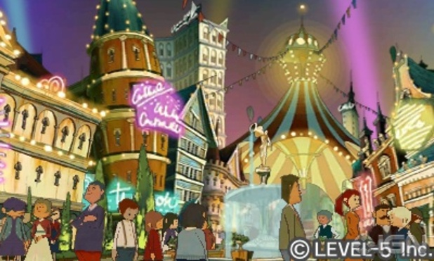 Professor Layton and the Miracle Mask Screenshot - Professor Layton and the Miracle Mask - 1