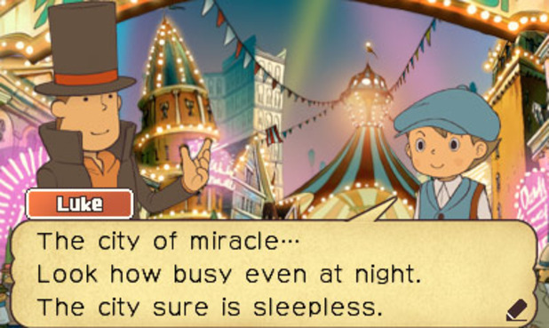 Professor Layton and the Miracle Mask - 2