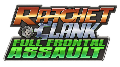 Ratchet & Clank Collection Screenshot - R&C: Full Frontal Assault - logo