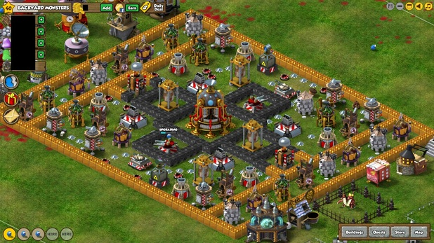 War Commander Screenshot - Kixeye - Backyard Monsters - 2