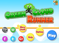 Green Cloud Runner Image