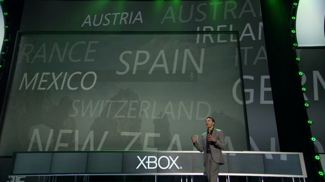 microsoft e3 kinect new languages