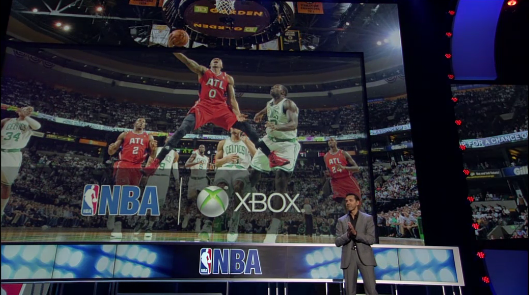 nba mlb nhl espn on xbox e3