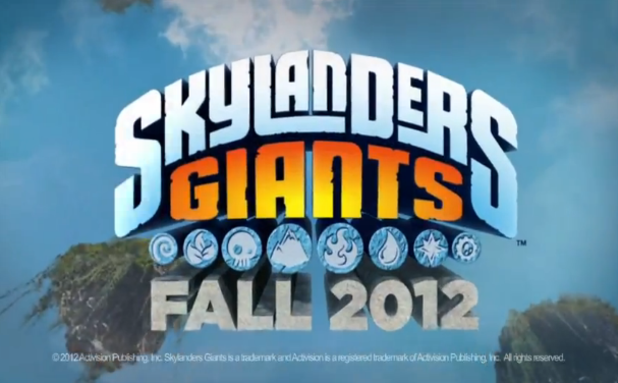 Skylanders: Giants Screenshot - skylanders giants logo