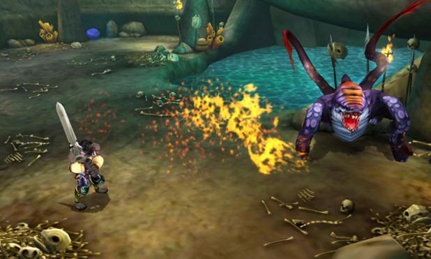 Heroes of Ruin Screenshot - Heroes of Ruin - 3DS
