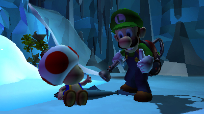 Luigi's Mansion: Dark Moon Screenshot - Luigi's Mansion: Dark Moon - 1