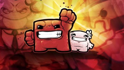 Braid Screenshot - Super Meat Boy
