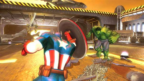 The Avengers: Battle for Earth gameplay