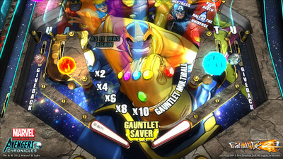 Marvel Pinball Screenshot - Marvel Pinball: Avengers Chronicles
