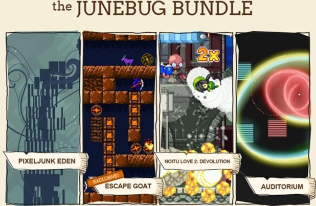 PixelJunk Eden Screenshot - June Bug Bundle
