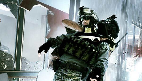 Battlefield 3 Close Quarters Gameplay Screenshot