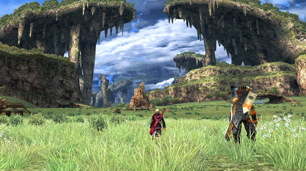 Xenoblade Chronicles Wii Gameplay