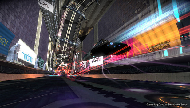 WipEout 2048 Screenshot - Wipeout 2048 DLC