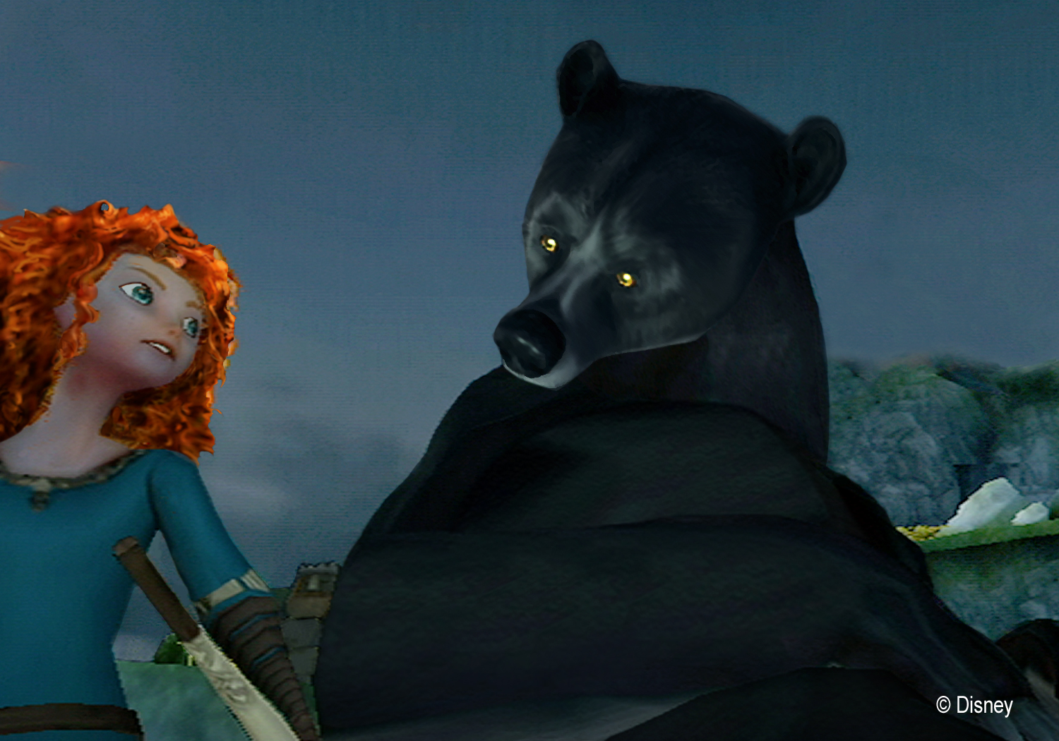 brave merida bear