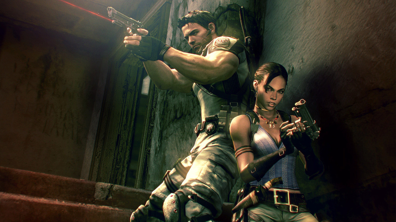 Resident Evil 5 coop play