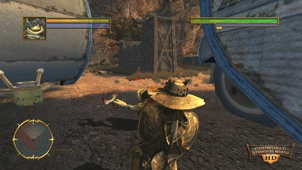 Oddworld: Stranger's Wrath (PSN) Screenshot - SW HD