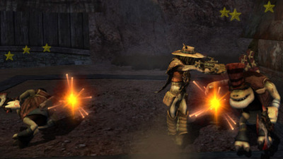 Oddworld: Stranger's Wrath (PSN) Screenshot - Stranger's Wrath HD