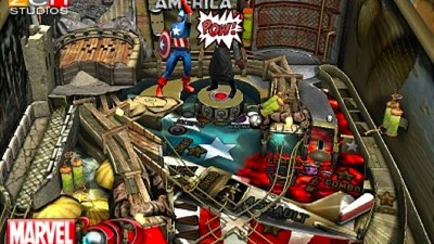 Marvel Pinball Screenshot - Marvel Pinball 3D