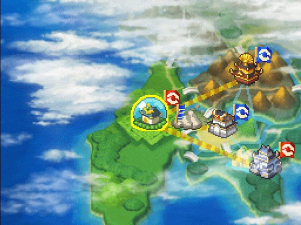 Pokemon Conquest map