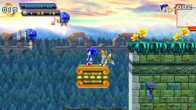 Sonic the Hedgehog 4 Episode II Screenshot - Sonic 4 Ep 2