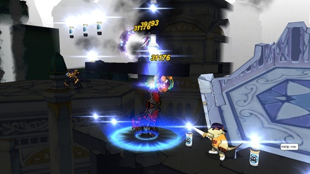 Elsword Screenshot - Elsword - Chung - 2