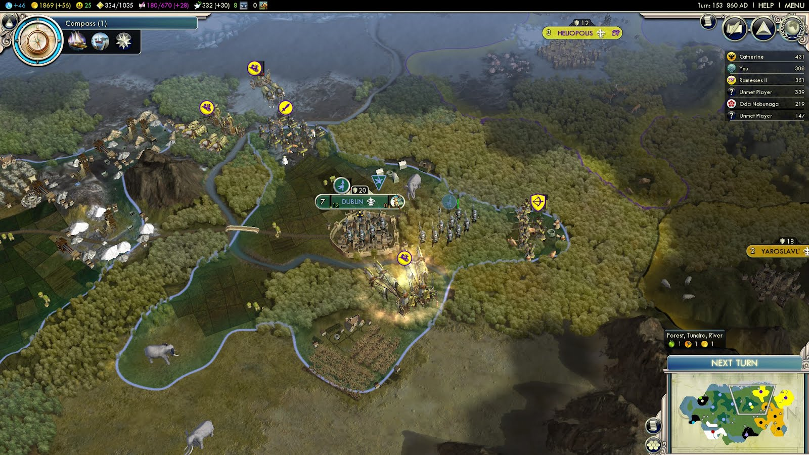 Civ 5 Gods & Kings