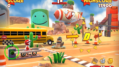 Joe Danger Touch Screenshot - Joe Danger Touch